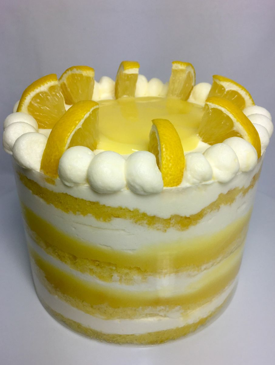 Lemon Layer Cake Bbc